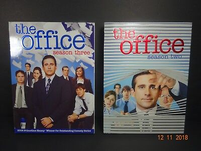 The Office Season 2 and 3 DVD Lot