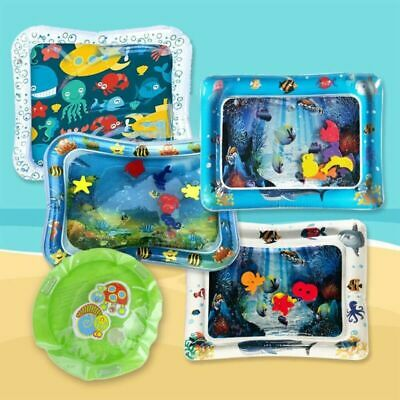 Baby Water Play Mat Inflatable For Infants Toddlers Fun Tummy Time Selling