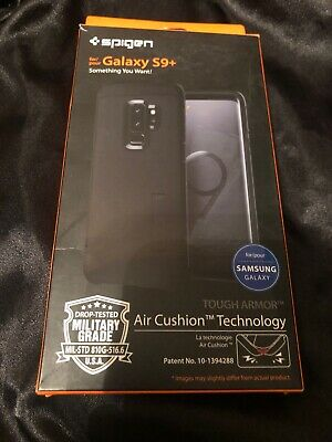 Spigen Tough Armor Galaxy S9 Plus Case with Reinforced Kickstand and Heavy Duty