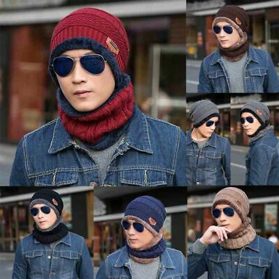 Funny Hat Autumn and Winter Beanie Handmade  Warm Knitted Hat Scarf Modern
