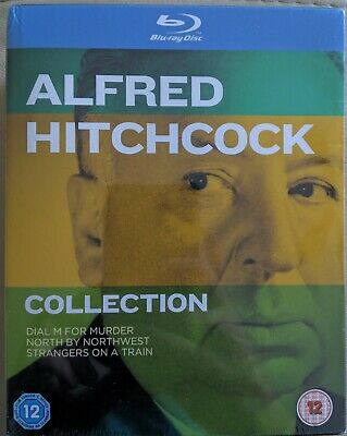 Alfred Hitchcock: 3-Movie Collection [3D + 2D Blu-ray Box Set Region Free] NEW