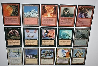 Magic The Gathering Cards - ICE AGE - Vintage Bulk Lot - 1995