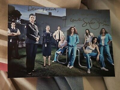 Autographed Susie Porter 'wentworth' Signed Photo.