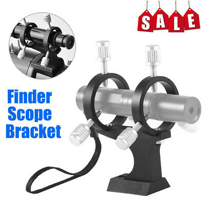Adjustable Laser Pointer Bracket Finder Scope Bracket +Fixing Ring for Telescope