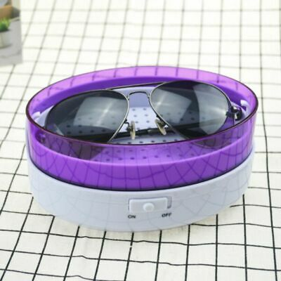 Ultrasonic Jewelry Cleaner Eye Glasses Denture Necklace Ring Cleaning Machine