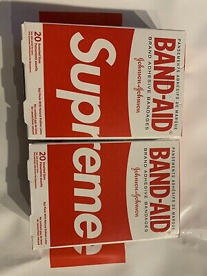 2 Supreme Band-Aid Bandages SS19 SOLD OUT