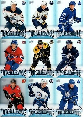 2018-19 Upper Deck Tim Hortons Clear Cut Phenoms Pick your singles $2 each