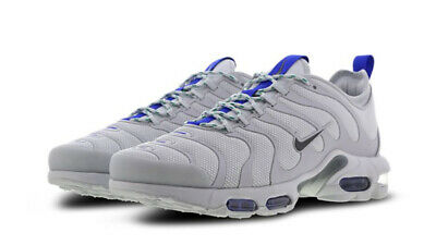 new product c639c baafb Nike Air Max Plus TN Ultra Platinum Grey Racer Blue AR4234-001 Men s Size 8