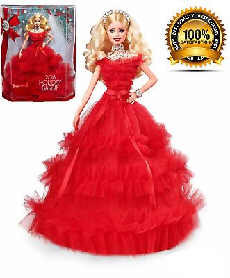Barbie 2018 Holiday Signature Collector Doll - Blonde 30th Anniversary edition