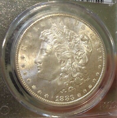 1883-CC  PCGS  MS 65  Morgan Silver Dollar,  Carson City,  Listed at $500,