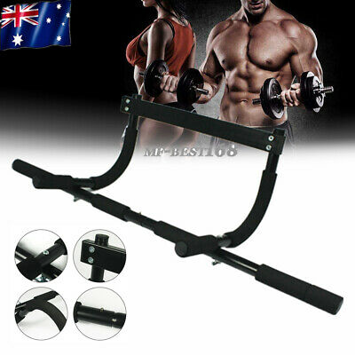 Chin Pull Up Bar Wall Home Gym Suspension Exercise Door Doorway Workout Fitness