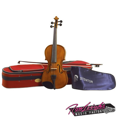 Stentor S1534 Student 2 All Solid 3/4 Size Complete Violin Outfit