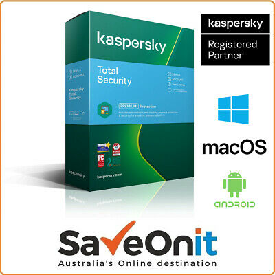 Kaspersky Total Security 2020 1 Device PC 1 Year 365 Days Email license key