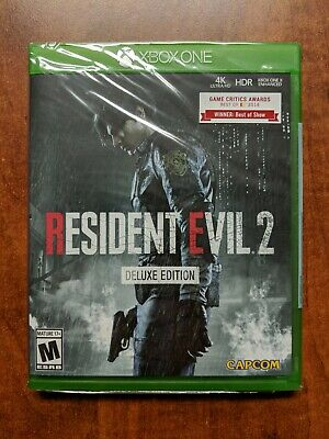 Resident Evil 2 Deluxe Edition for Xbox One BRAND NEW SEALED