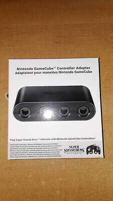 Nintendo gamecube Official controller adapter super smash bros ultimate Switch
