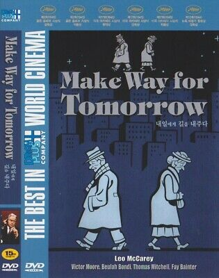 Make Way for Tomorrow (1937) Victor Moore / Beulah Bondi DVD NEW *FAST SHIPPING*