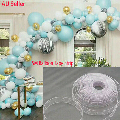 5M Balloon Tape Strip Arch Garland Decorate Kit for Wedding Party Bar AU Seller