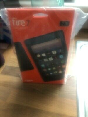 """Brand New Amazon Kindle Fire 7"""" Tablet with Alexa 16GB Wi-Fi (7th Gen) - Black"""