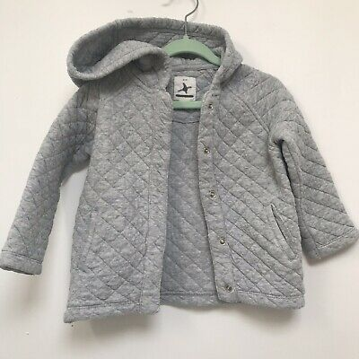 Country road Grey Quilted Jacket / Jumper Girls/Boys/Unisex 18-24 Months