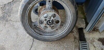 1995 Suzuki GSXR750 slingshot Rear Wheel, Brake Disc & Sprocket