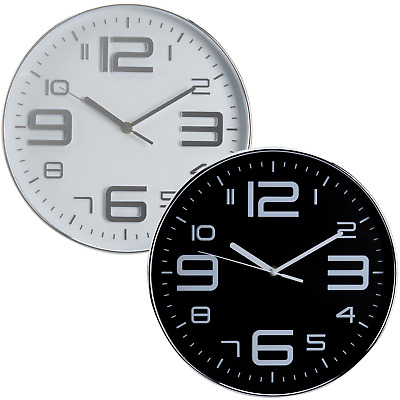 Wall Clock Decorative Arabic Numerals Indoor Office Home Modern 12 Hour Display