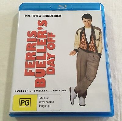 Ferris Bueller's Day Off (1986) - Blu-Ray Region Free | Like-New | John Hughes