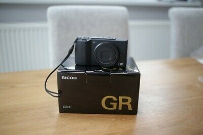 Ricoh GR II 16.2MP Digital Camera - Black. Excellent condition.