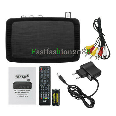 Digital Satellite TV Terrestrial Receiver DVB T2 HD Digital Set-top BOX Freeview