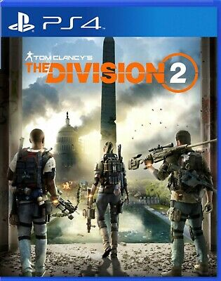 Tom Clancy's The Division 2 Asia Chinese/English PS4 BRAND NEW