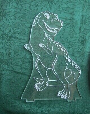 Aloka Night Light Dino Upright ONLY - Base & remote not included EUC no packet