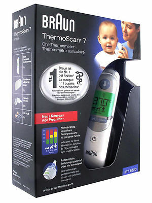 KEEP BABY SAFE!-BNIB Braun ThermoScan 7 IRT 6520 child digital ear thermometer
