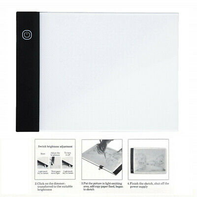 LED A5 Painting Tracing Board Copy Pad Panel Third Gear Dimming Art Stencil Hot