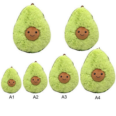 Soft Comfort Avocado Cute Plush Toys Stuffed Dolls Cushion Pillow For Kids Decor