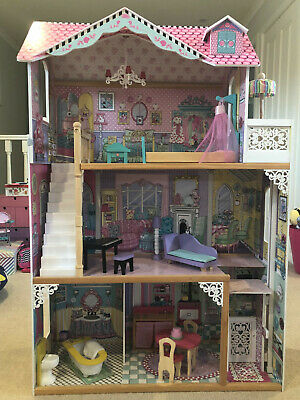 Kidkraft 3 Storey Doll house with furniture
