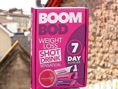 BoomBod 7 Day Achiever -TRACKED and FAST DELIVERY Worldwide
