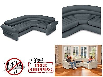 Awe Inspiring Sectional Sofa Couch Corner Inflatable Air Modern Living Onthecornerstone Fun Painted Chair Ideas Images Onthecornerstoneorg