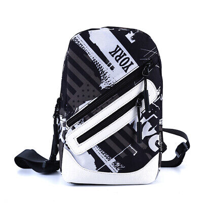 Anti-Theft Men Chest Messenger Sling Casual Shoulder Small Crossbody Bags ONE