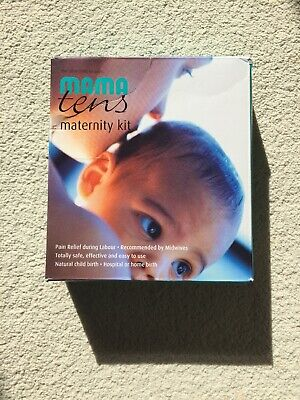 Mama TENS maternity kit / pain relief machine, boxed