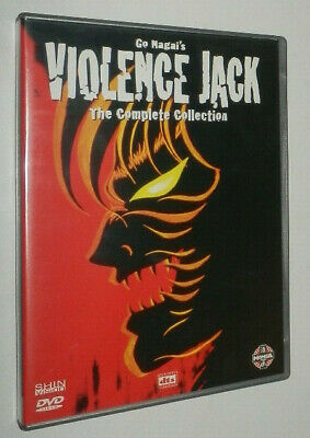 Go Nagai VIOLENCE JACK THE COMPLETE COLLECTION Shin Vision - edizione italiana