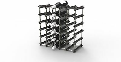 25 NOOK Wine Rack DIY, Easy 2 Step Assembly - No Hardware Required