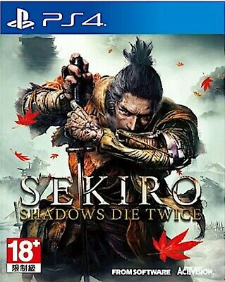Sekiro: Shadows Die Twice Asia Chinese/English subtitle PS4 BRAND NEW Day One Ed