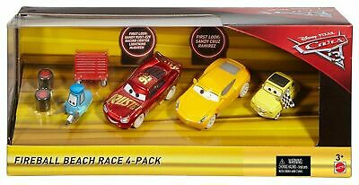 Mattel fcl78 Modellini Auto Disney Pixar Cars 3 Fire Ball Beach Race Mc Queen Cr