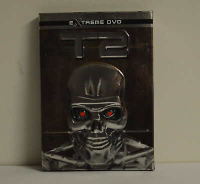 DVD TERMINATOR 2 JUDGEMENT DAY T2 Extreme DVD Metal Case