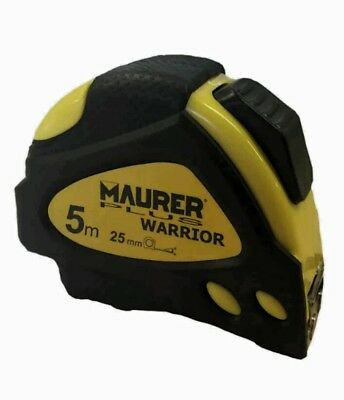 MAURER PLUS WARRIOR - FLESSOMETRO A CALAMITA - 5m-25mm -