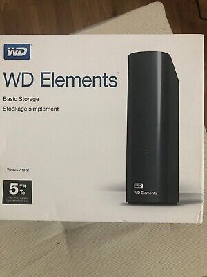 Western Digital WD Elements Desktop 5TB,Extern