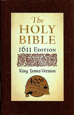 NEW - Holy Bible: King James Version, 1611 Edition