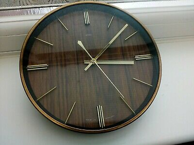 Superb Vintage 60s 70s Iconic Mid Century Metamec Wall Clock