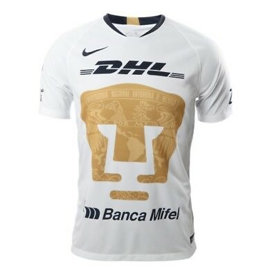 92676fa6b Pumas Unam Jersey De Local 2018 - 2019 Nike Color Blanco Club Universidad  Mexico