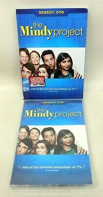 NEW The Mindy Project Season One 3 Disc DVD Box Set Collection Romantic Comedy