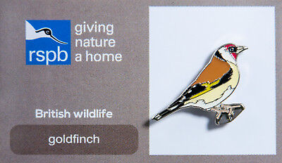 RSPB Pin Badge | Goldfinch | RSPB GNaH [00216]